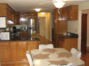 Eat in Kitchen w/Granite Counters